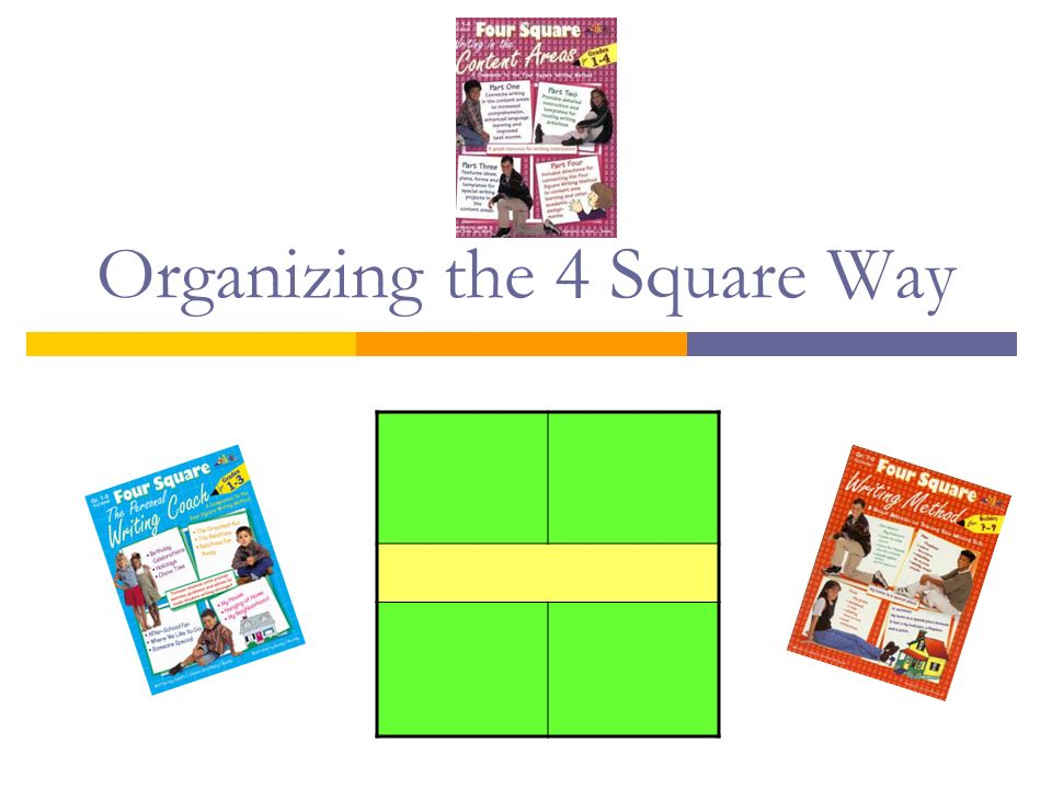 Organizing the 4 Square Way