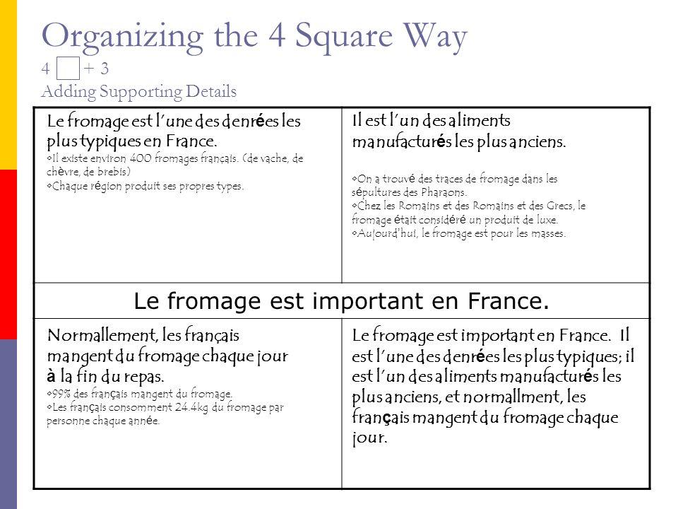 The Final Piece Le fromage est important en France pour plusieurs raisons.