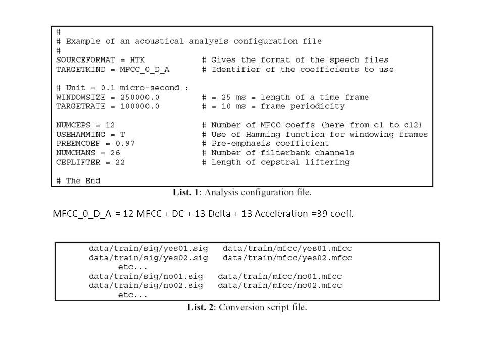 Définition structurelle des HMM Il faut définir le nombre détats, les fonctions dobservation et les probabilité de transition entre états : pas évident .
