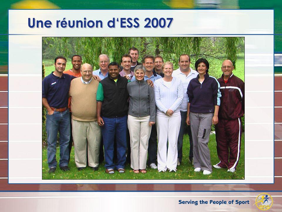 Une r é union dESS 2007