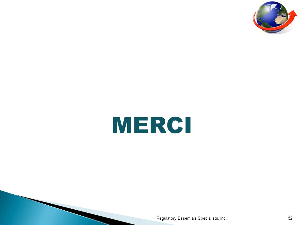 MERCI Regulatory Essentials Specialists, Inc.52