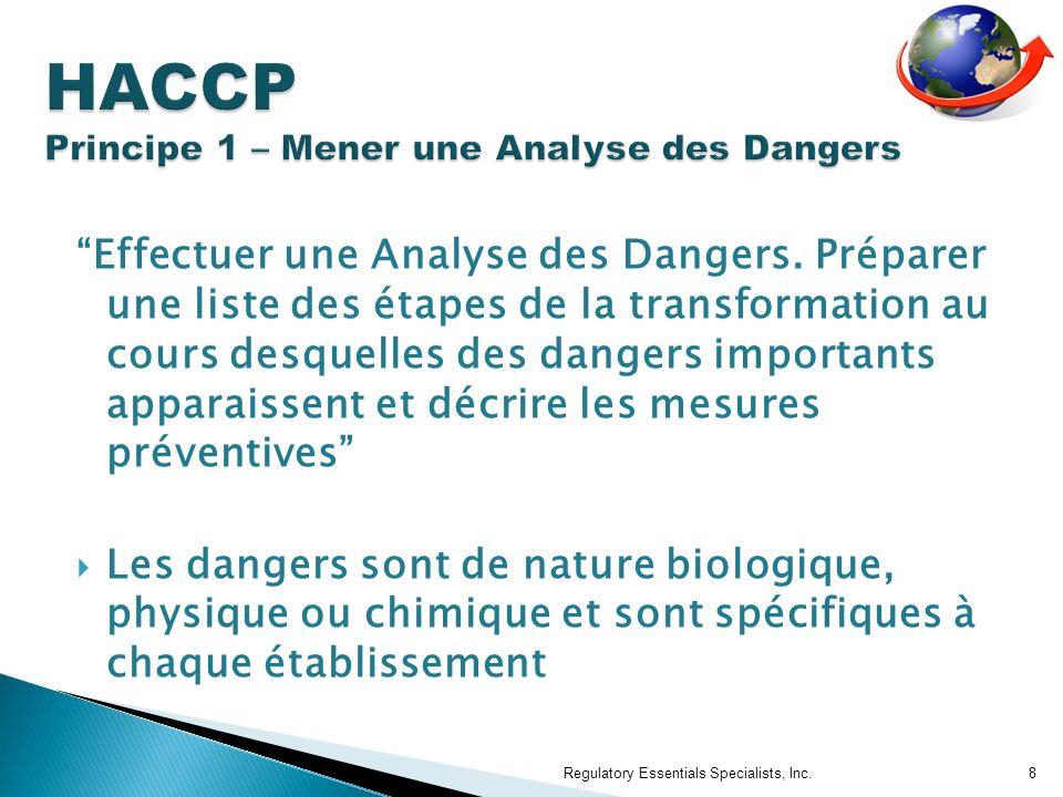 Effectuer une Analyse des Dangers.
