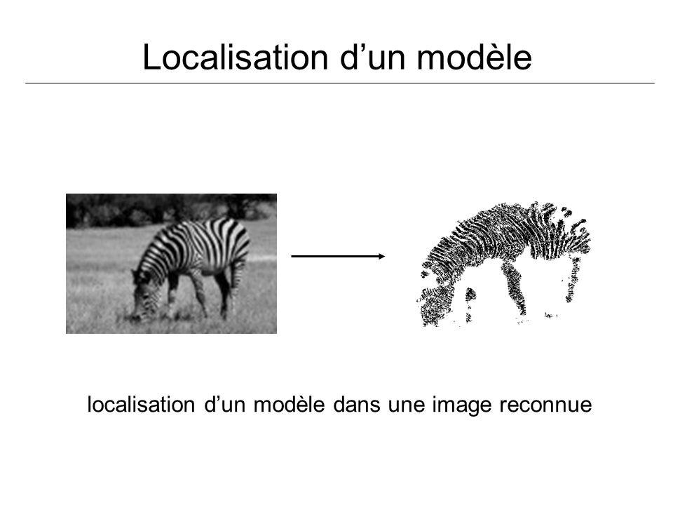 Localisation dun modèle localisation dun modèle dans une image reconnue