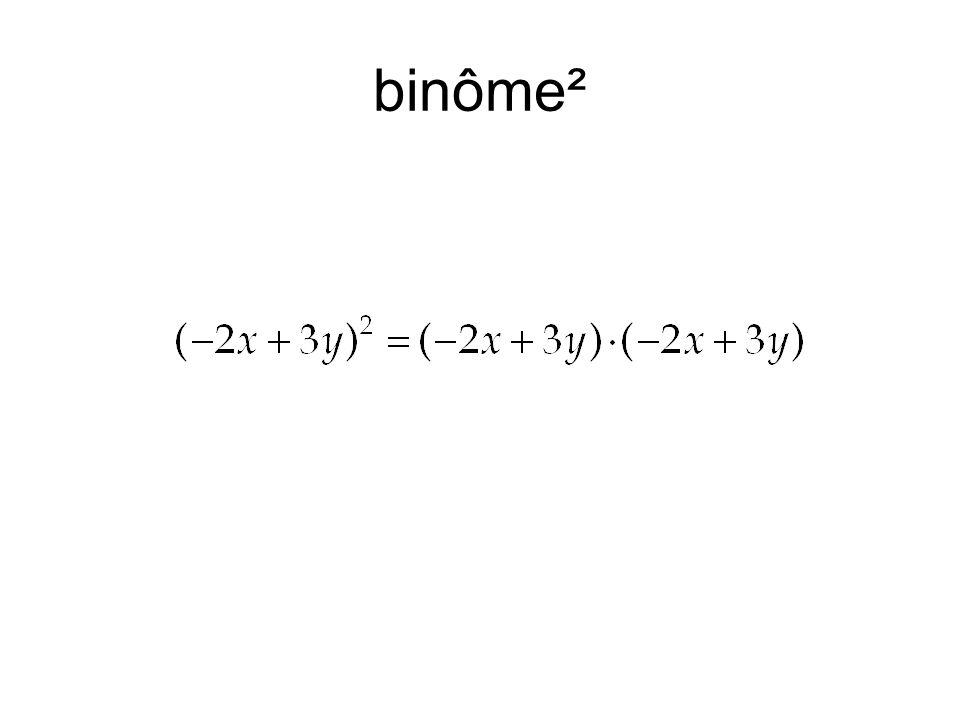 binôme²