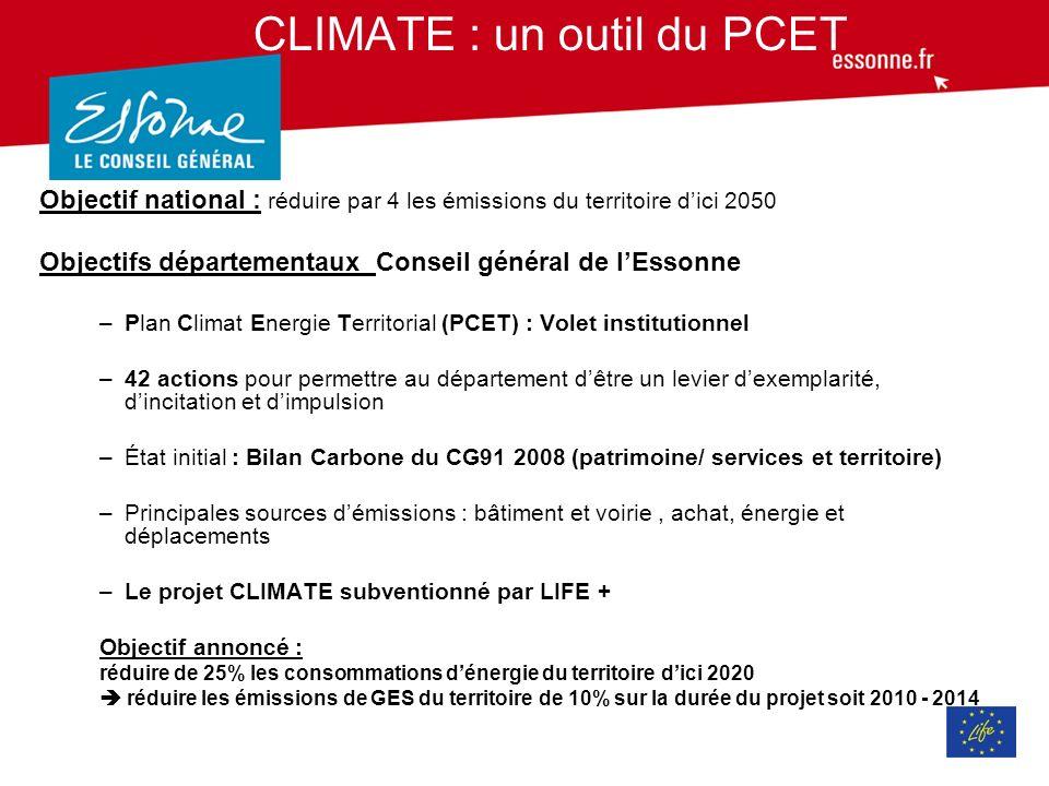 Contexte Le bilan carbone Bilan Carbone réalisé sur le Département exercice réalisé en 2008 données 2006-2007 et 2013 données 2012 Vision statique et imparfaite, qui ne responsabilise pas, évolutive en fonction des outils des données et des périmètres sélectionnés V 2013