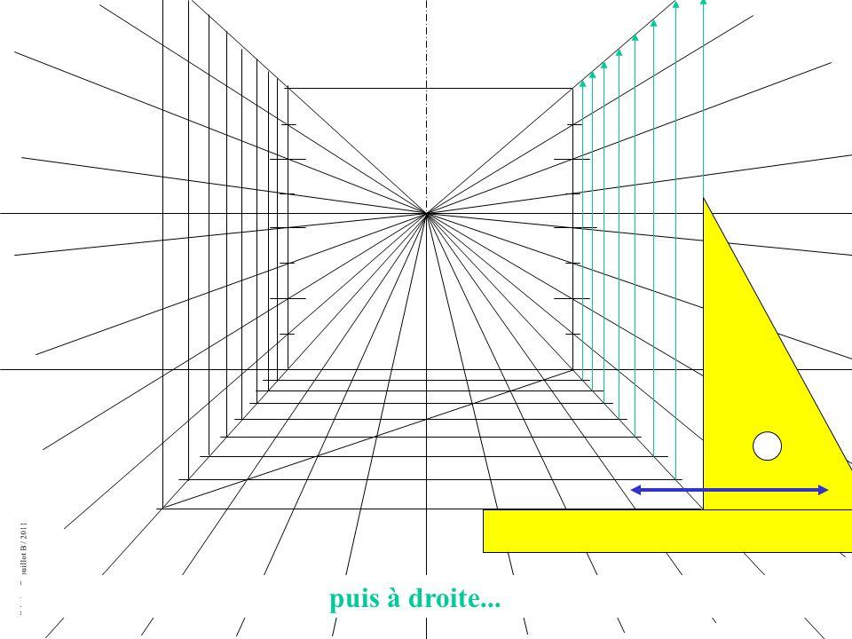 Création Drouillot B / 2011 puis à droite...