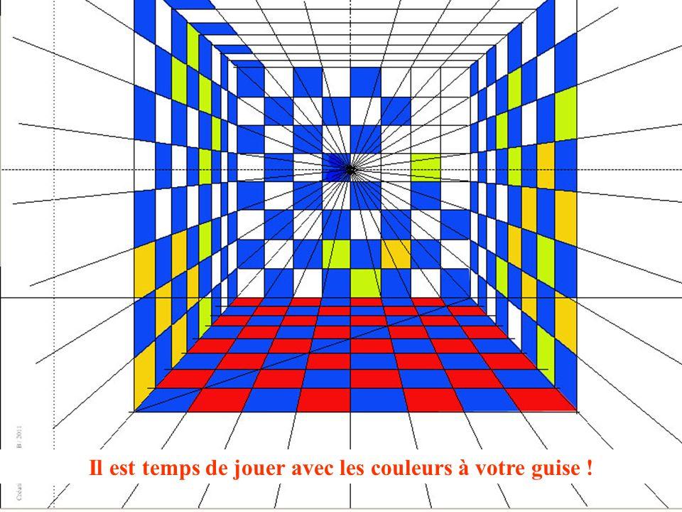 Création Drouillot B / 2011 Il est temps de jouer avec les couleurs à votre guise !