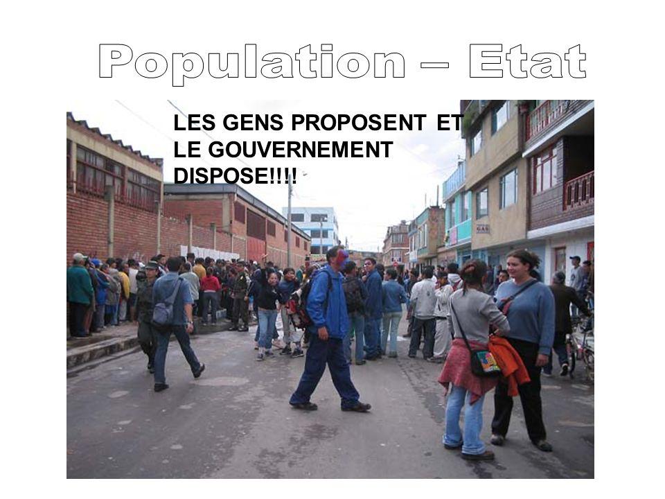 LES GENS PROPOSENT ET LE GOUVERNEMENT DISPOSE!!!!