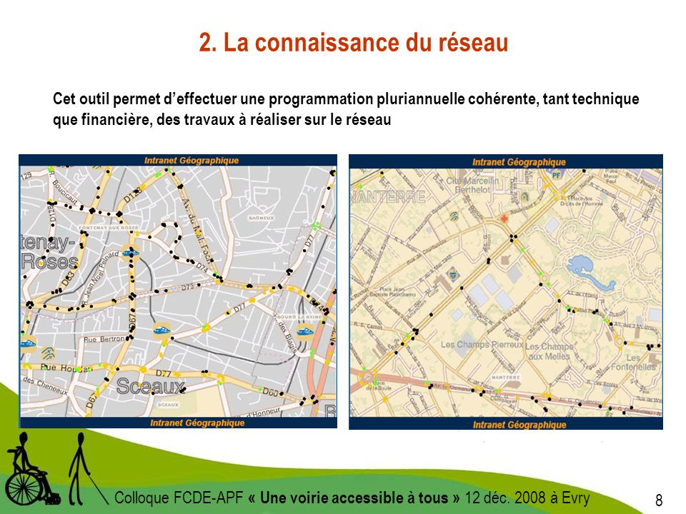 9 Colloque FCDE-APF « Une voirie accessible à tous » 12 déc.