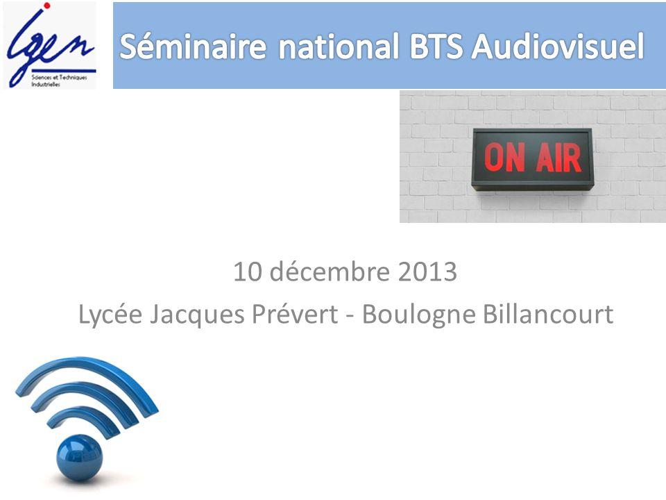 10 décembre 2013 Lycée Jacques Prévert - Boulogne Billancourt