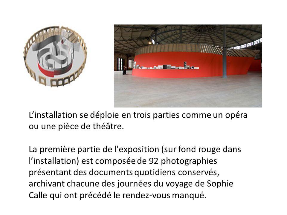 Chaque photographie ou document est estampillé dun chiffre indiquant le nombre restant de « jours avant le malheur ».