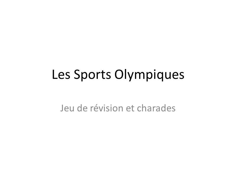 Les Sports Olympiques Jeu de révision et charades