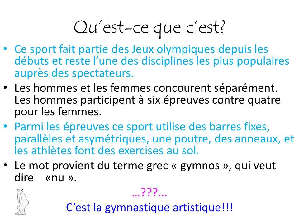 Quest-ce que cest? Ce sport fait partie des Jeux olympiques depuis les débuts et reste lune des disciplines les plus populaires auprès des spectateurs