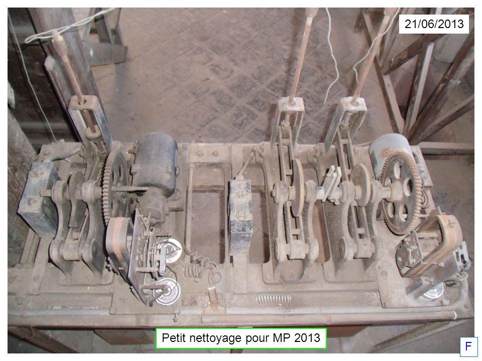 21/06/2013 Petit nettoyage pour MP 2013 F