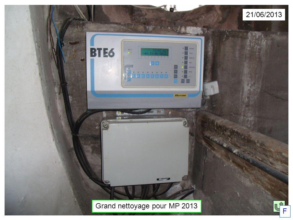21/06/2013 Grand nettoyage pour MP 2013 F