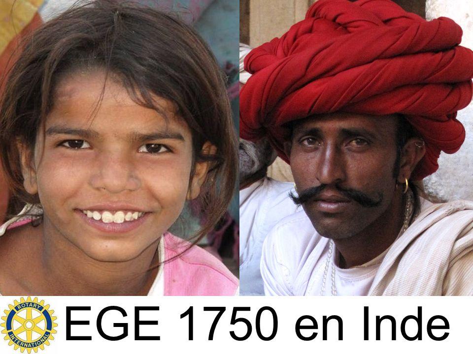 EGE 1750 en Inde