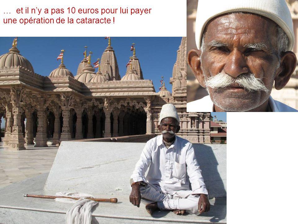 … et il ny a pas 10 euros pour lui payer une opération de la cataracte !