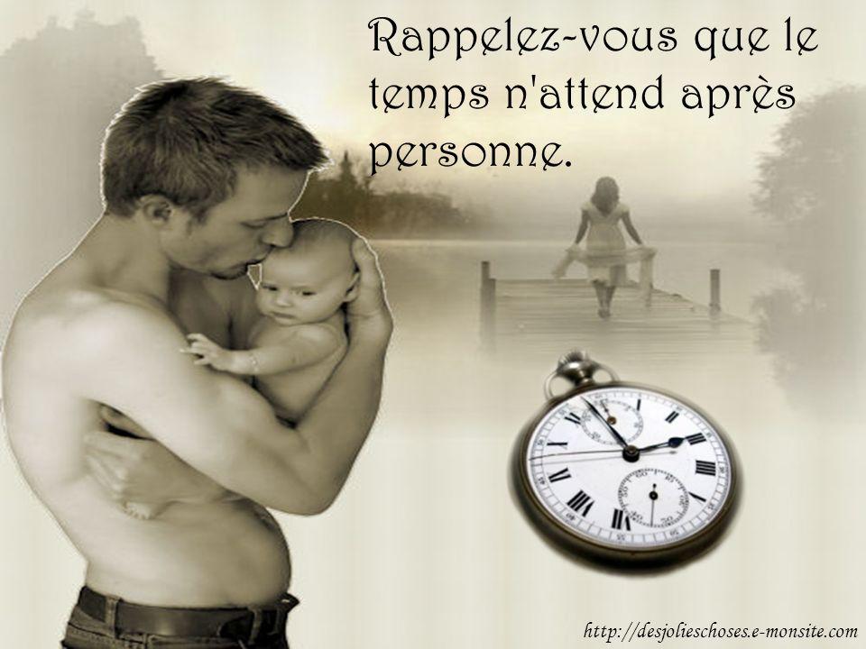 Rappelez-vous que le temps n attend après personne. http://desjolieschoses.e-monsite.com