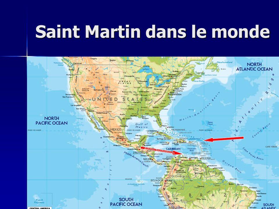 Saint Martin dans le monde Antilles Néerlandaises