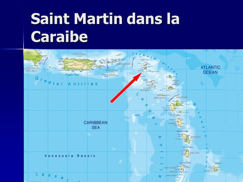 Saint Martin dans la Caraibe