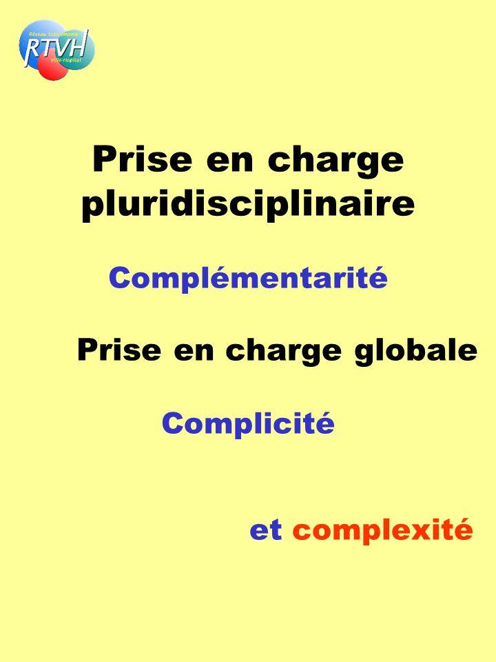 Prise en charge pluridisciplinaire Complémentarité Prise en charge globale Complicité et complexité