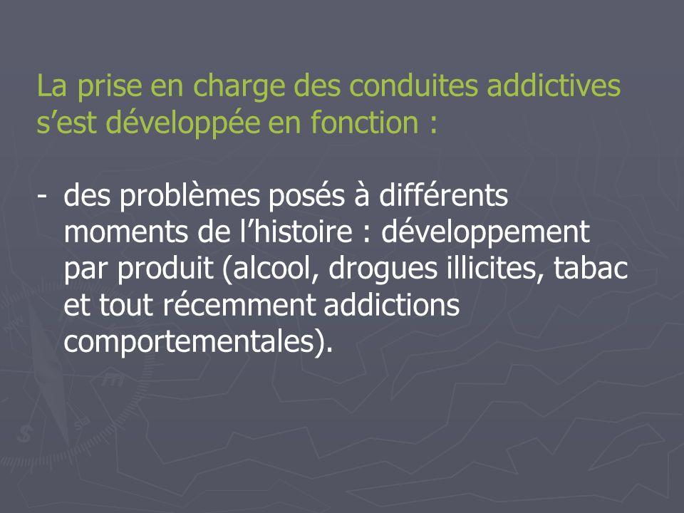 Priorité 1 : Mieux prendre en charge les addictions dans les EPS.
