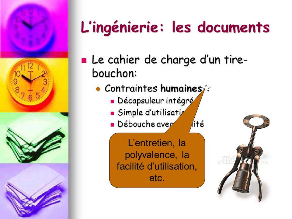 Lingénierie: les documents La projection orthogonale: La projection orthogonale:
