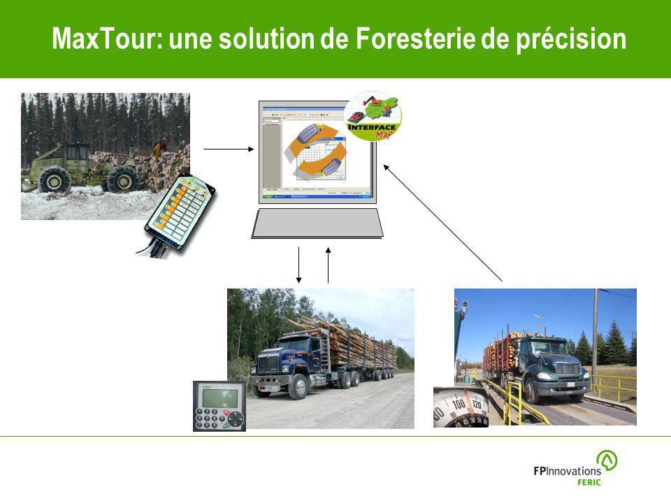 MaxTour: une solution de Foresterie de précision