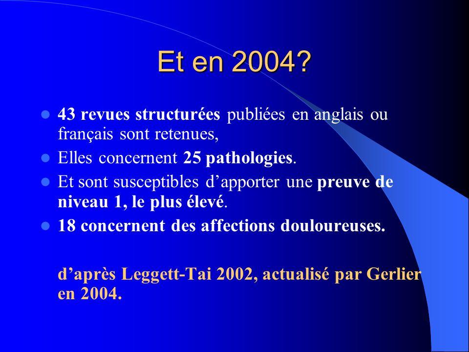 Conférence de consensus NIH 1997 « Les preuves sont suffisantes sur la validation de lacupuncture pour étendre son utilisation au sein de la médecine conventionnelle et pour encourager des études supplémentaires sur ses mécanismes et sa validation clinique.