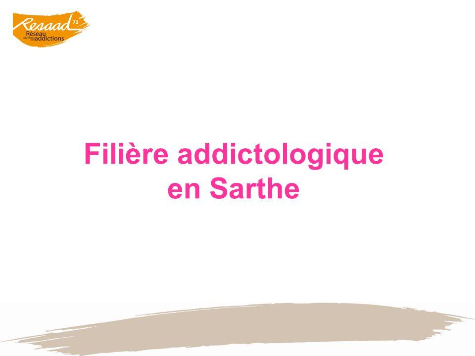 Filière addictologique en Sarthe