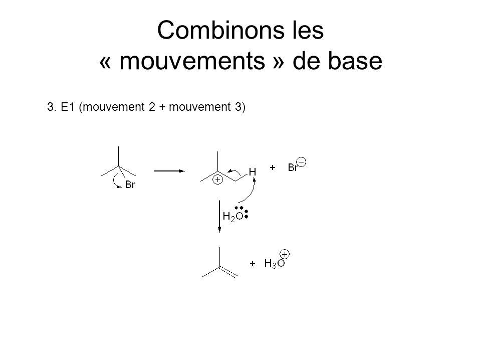 Combinons les « mouvements » de base 3. E1 (mouvement 2 + mouvement 3)