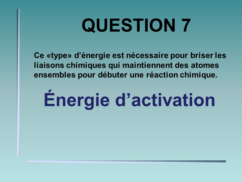 QUESTION 6 Une substance qui interagit avec de leau se nomme. hydrophile