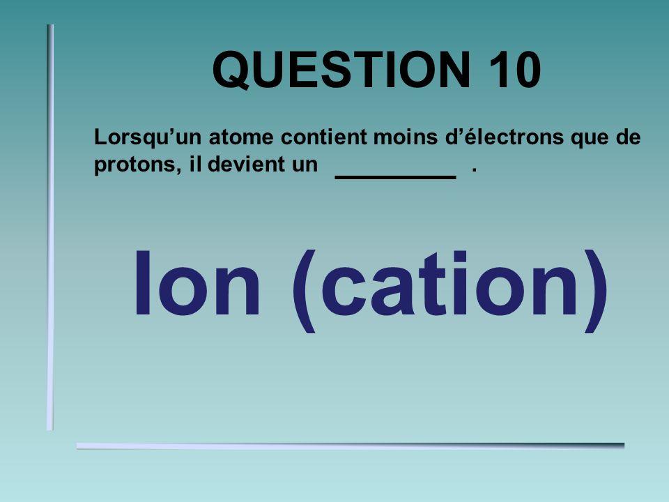 QUESTION 9 Deux facteurs qui influencent lactivité des enzymes sont le et la. pH et température