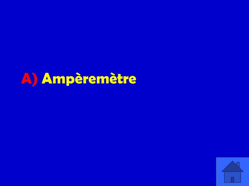 A) Ampèremètre