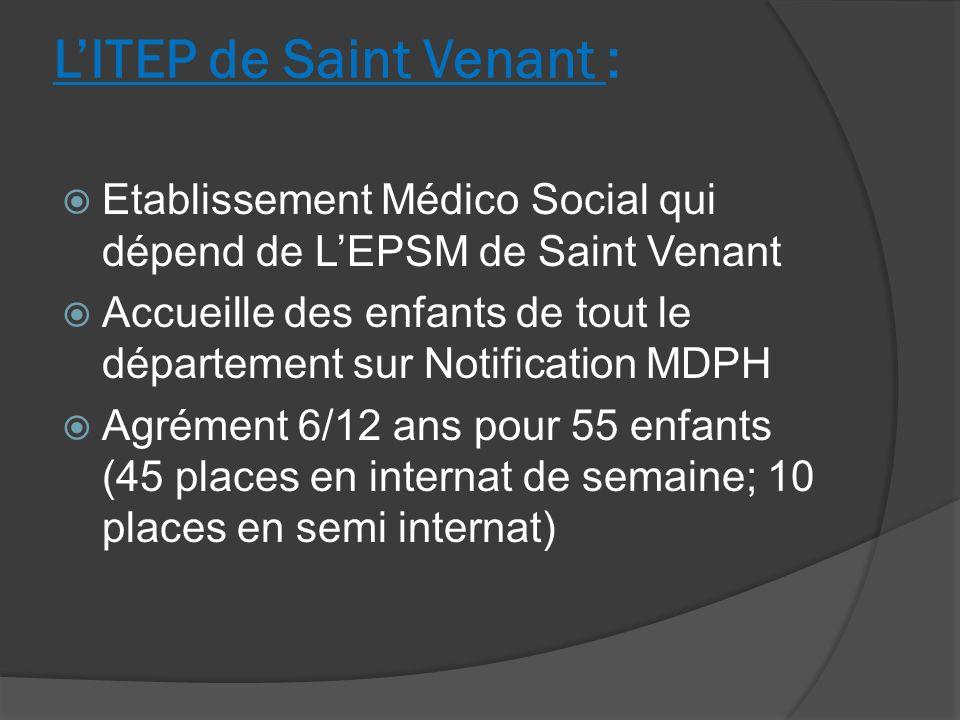 LITEP de Saint Venant : Etablissement Médico Social qui dépend de LEPSM de Saint Venant Accueille des enfants de tout le département sur Notification