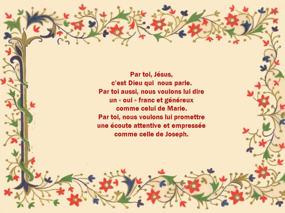 DIVIN ENFANT JESUS, daigne accueillir lhommage de notre amour.
