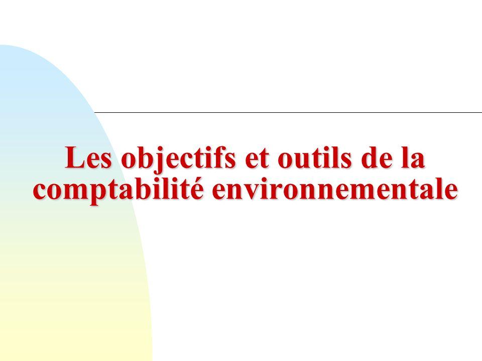 33 Les actifs environnementaux Immobiliser les coûts environnementaux, cest reconnaître que ces coûts créent de la valeur.