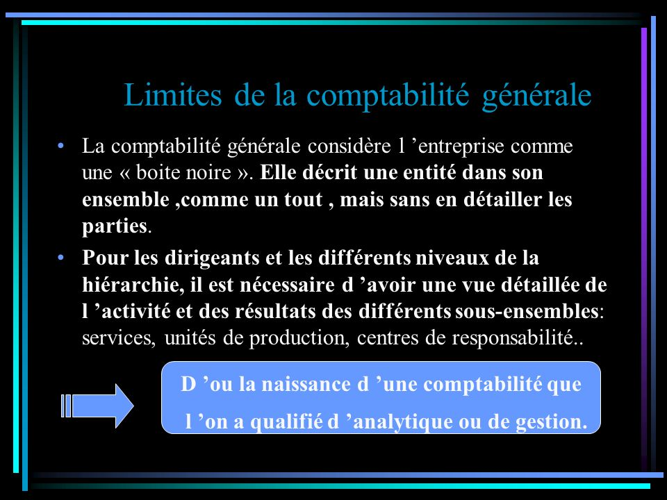 COMPTES REFLECHIS COMPTABILITE GENERALE COMPTABILITE ANALYTIQUE D EXPLOITATIONCOMPTABILITE GENERALE 3 STOCKS90 COMPTES REFLECHIS 94 IP STOCKS99 COMPTES DE LIAISONS INTERNES 90 COMPTES REFLECHIS3 STOCKS xPrestations reçues 91 COMPTES DE RECLASSEMENT 91 92 Prestations 93 Fournies 94 93 COUTS DES PRODUITS STOCKES 95 COUTS DES PRODUITS VENDUS 6.