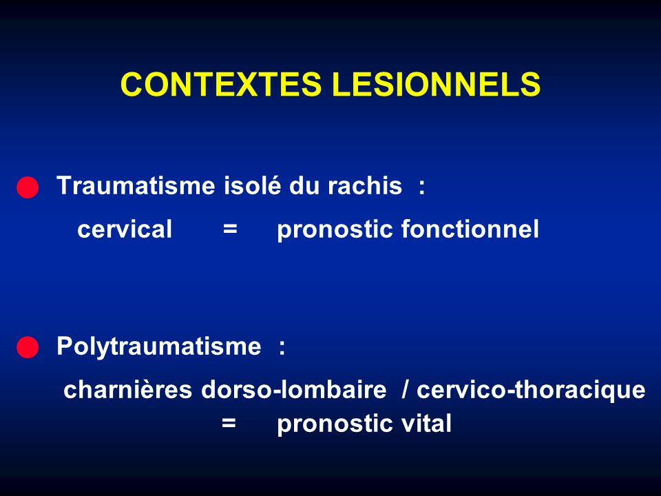 SOUFFRANCE MEDULLAIRE POST-OPERATOIRE Cause mécanique (chirurgie, hématome) Cause vasculaire Scanner IRM Myelographie
