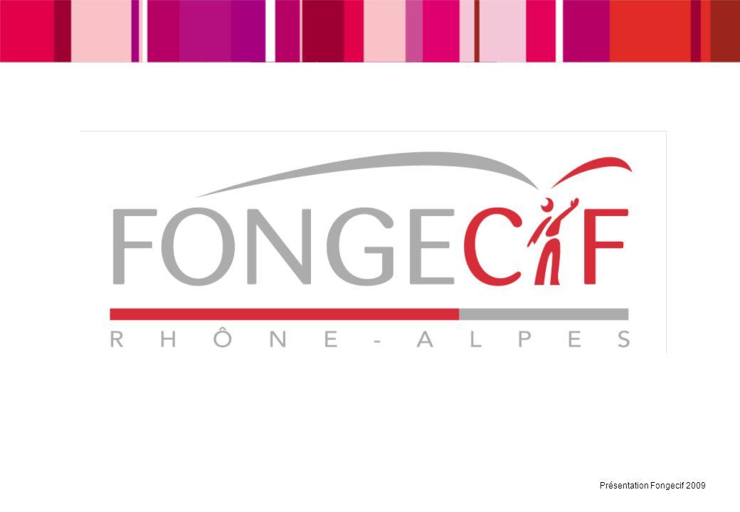 Présentation Fongecif 2009