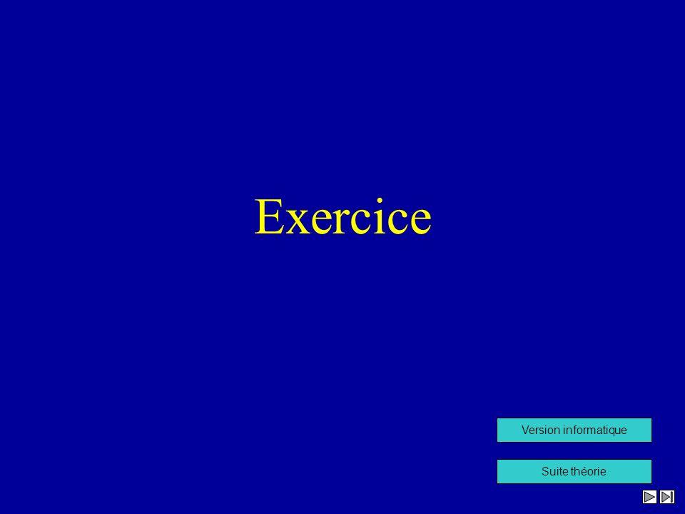 Exercice Suite théorie Version informatique