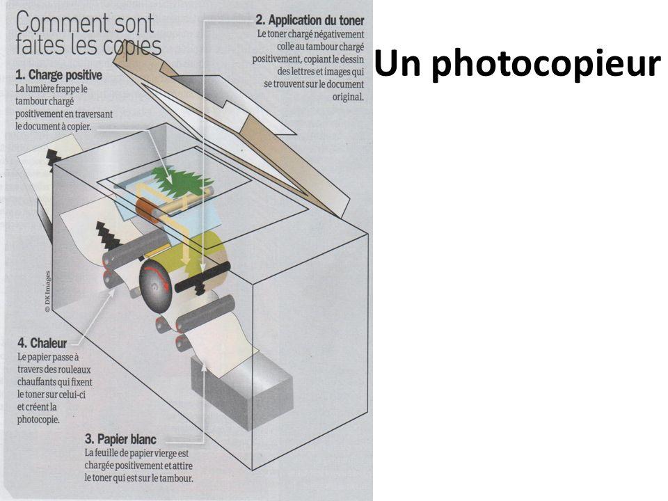 Un photocopieur