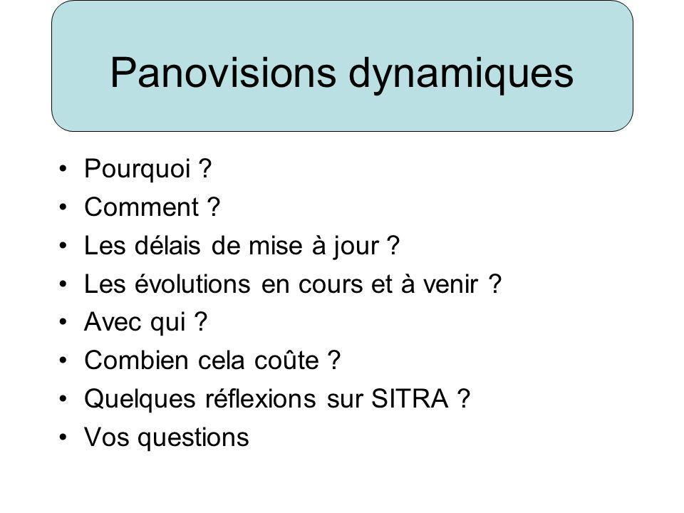 Panovisions dynamiques Pourquoi .