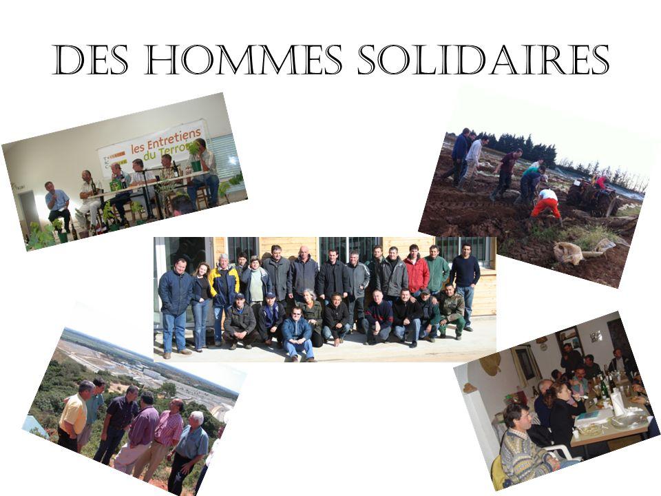Des hommes solidaires