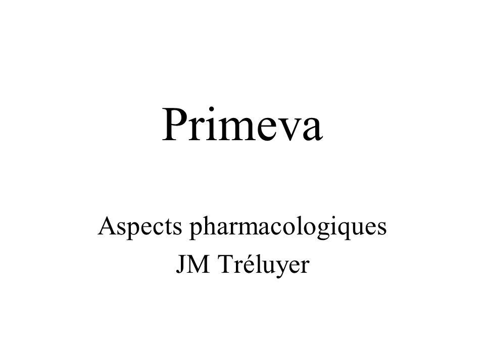 Primeva Aspects pharmacologiques JM Tréluyer