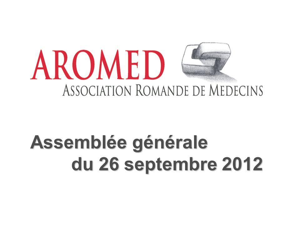 Assemblée générale du 26 septembre 2012 du 26 septembre 2012
