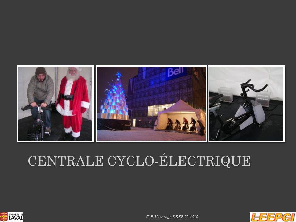 CENTRALE CYCLO-ÉLECTRIQUE @ P.Viarouge LEEPCI 2010