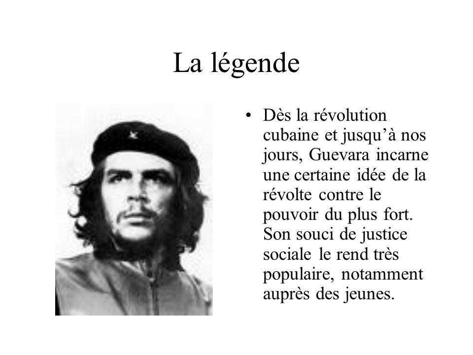 Che Guevara : CV Nom : Guevara Prénom : Ernesto, dit le Che Né le 14 juin 1928 en Argentine Etudes : 1953 : diplôme de médecine Parcours professionnel