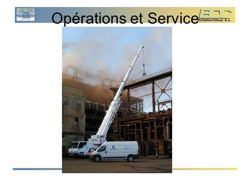 Opérations et Service