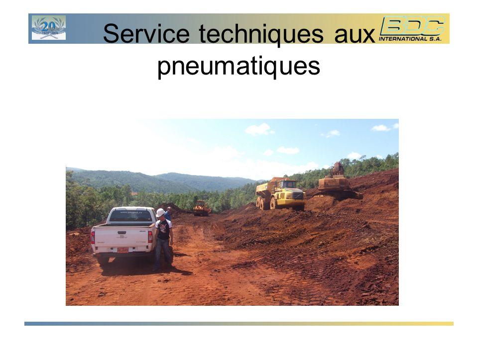 Service techniques aux pneumatiques